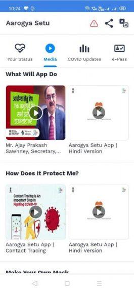 Aarogya Setu App Media 2