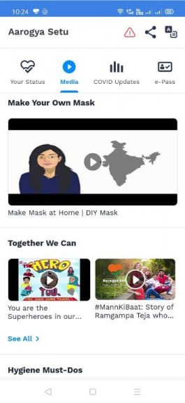 Aarogya Setu App Media 3