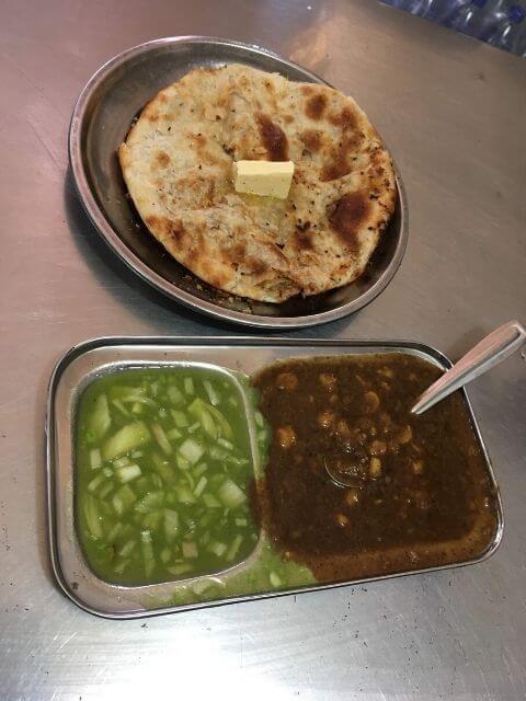 Chole Kulche, Kulwant Singh Kulche Wala - Old, Amritsar