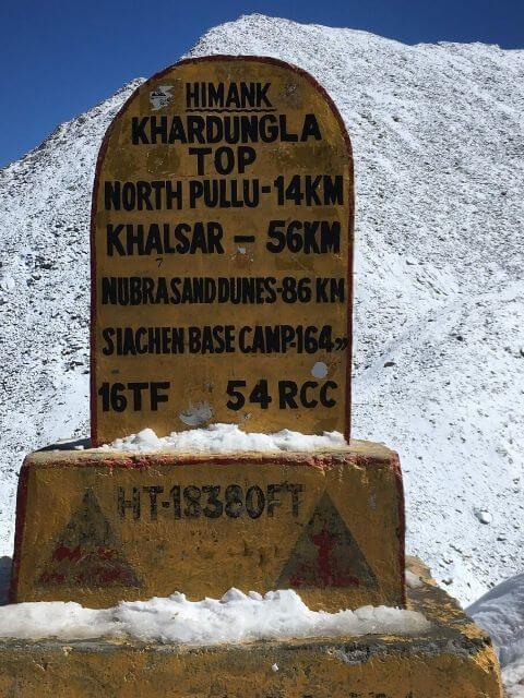 Khardung La Top, Ladakh