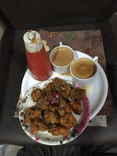 Worst Chicken Pakora and Tea